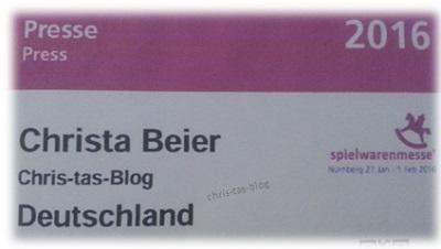 presseausweis Spielwarenmesse Nürnberg 2016