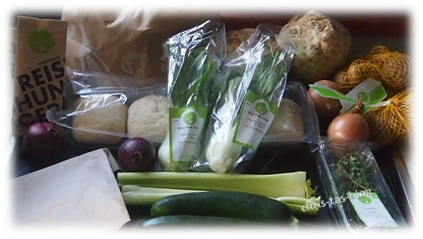 Frische Lebensmittel in der HelloFresh TM Box