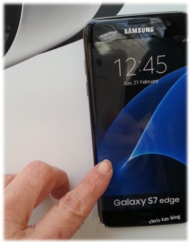 Galaxy S7 edge schwarz