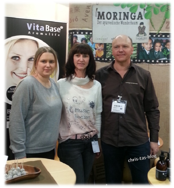 Messestand Sanleaf Europe Moringa