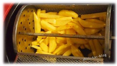 Pommes in der Klarstein Heißluftfriteuse