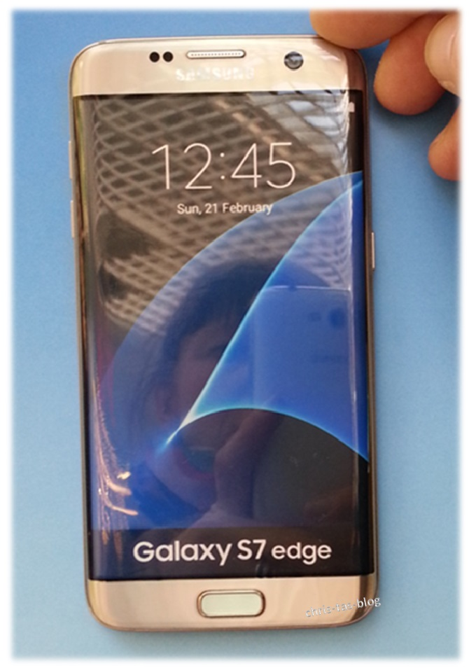 Samsung Galaxy S7 edge gold-platinum