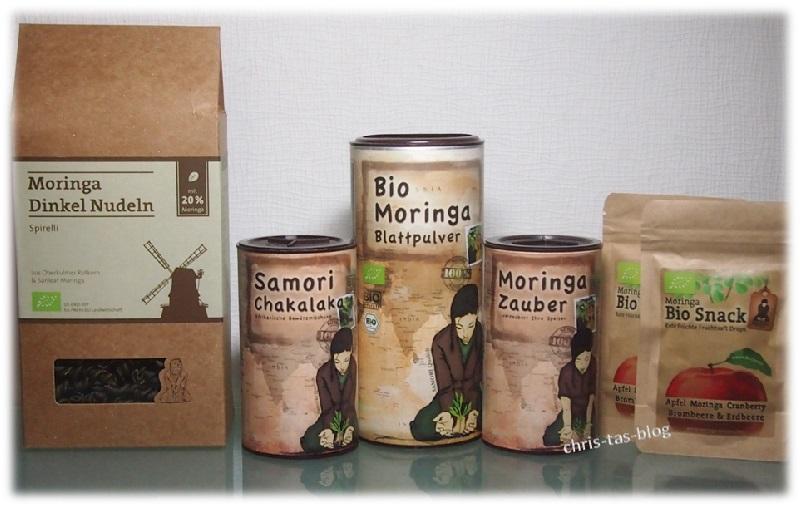 Sanleaf Europe Moringa Produkte