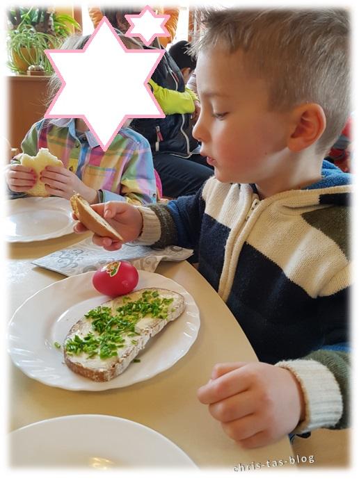 Frühstück Omatag Kindergarten