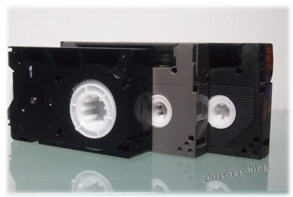 Hi8 und Video8 Cassetten