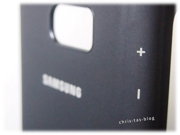 Lautstärkenregelung Samsung S View Cover