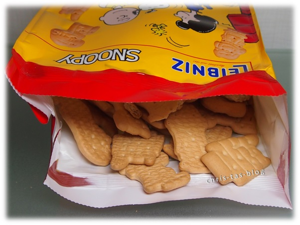 Snoopy Kekse von Leibniz