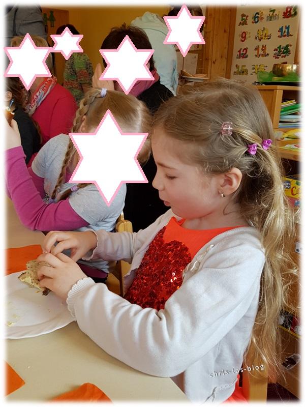 Virginia hatte Omatag im Kindergarten