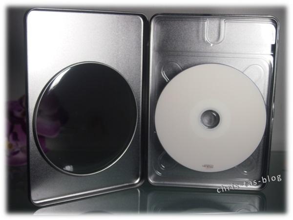 Metallbox für die digitalisierten DVD´s A