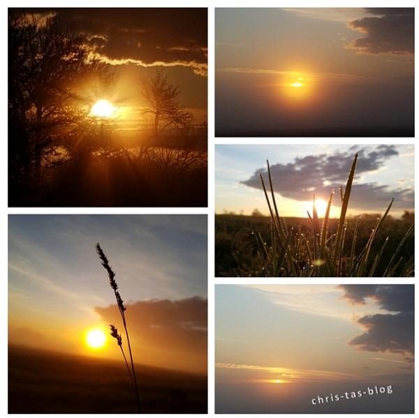Sonnenaufgänge im April