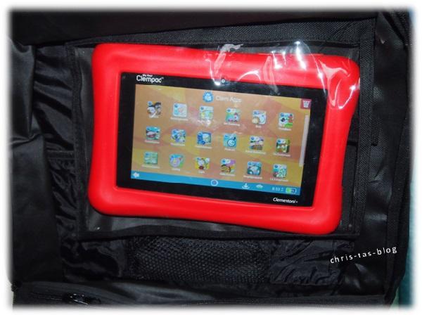 Tablet-Tasche im Auto-Organizer