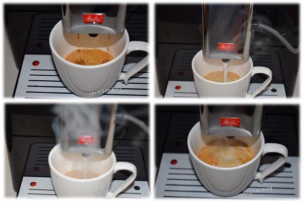 Cappuccino aus der Melitta CAFFEO® VARIANZA® CSP