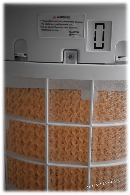 Filter an Luftkühler KLarstein