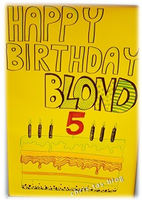Happy Birthday Blond! Made in Nürnberg