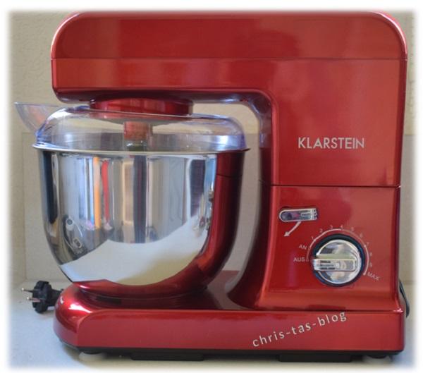 Klarstein Küchenmaschine rotes Design Gracia Rossa
