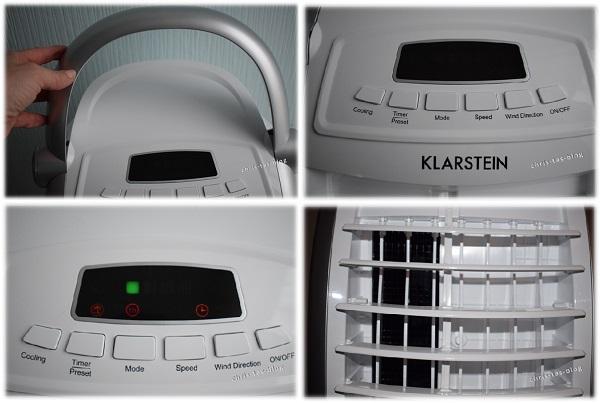 Maxfresh Klarstein Luftkühler Detailfotos