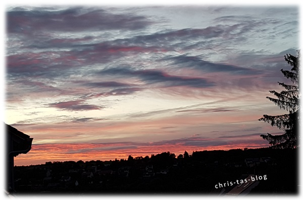 Sonnenuntergang Mai 2016