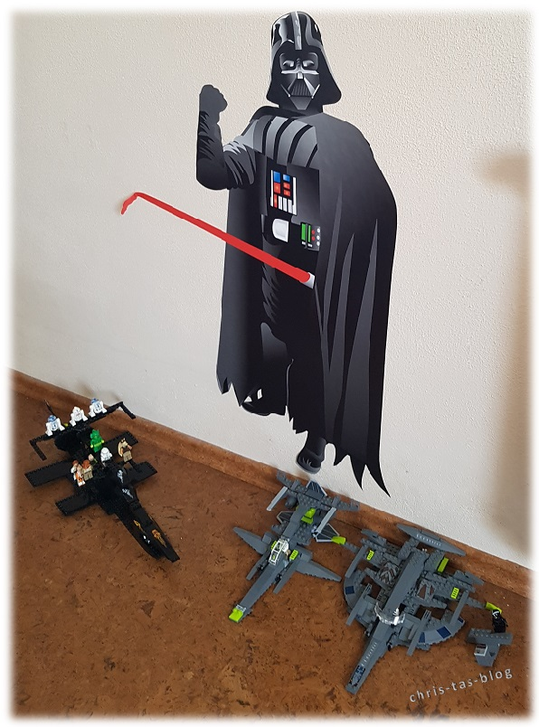 Star Wars Aufkleber für Kinderzimmer
