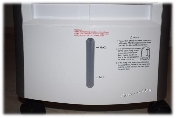 Wassertank Luftkühler Maxfresh