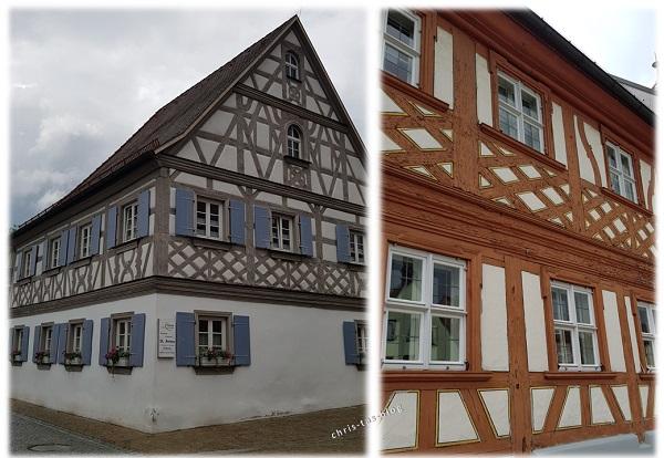 Fachwerkhäuser in Höchstadt