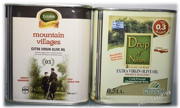 Olivenöl aus Griechenland