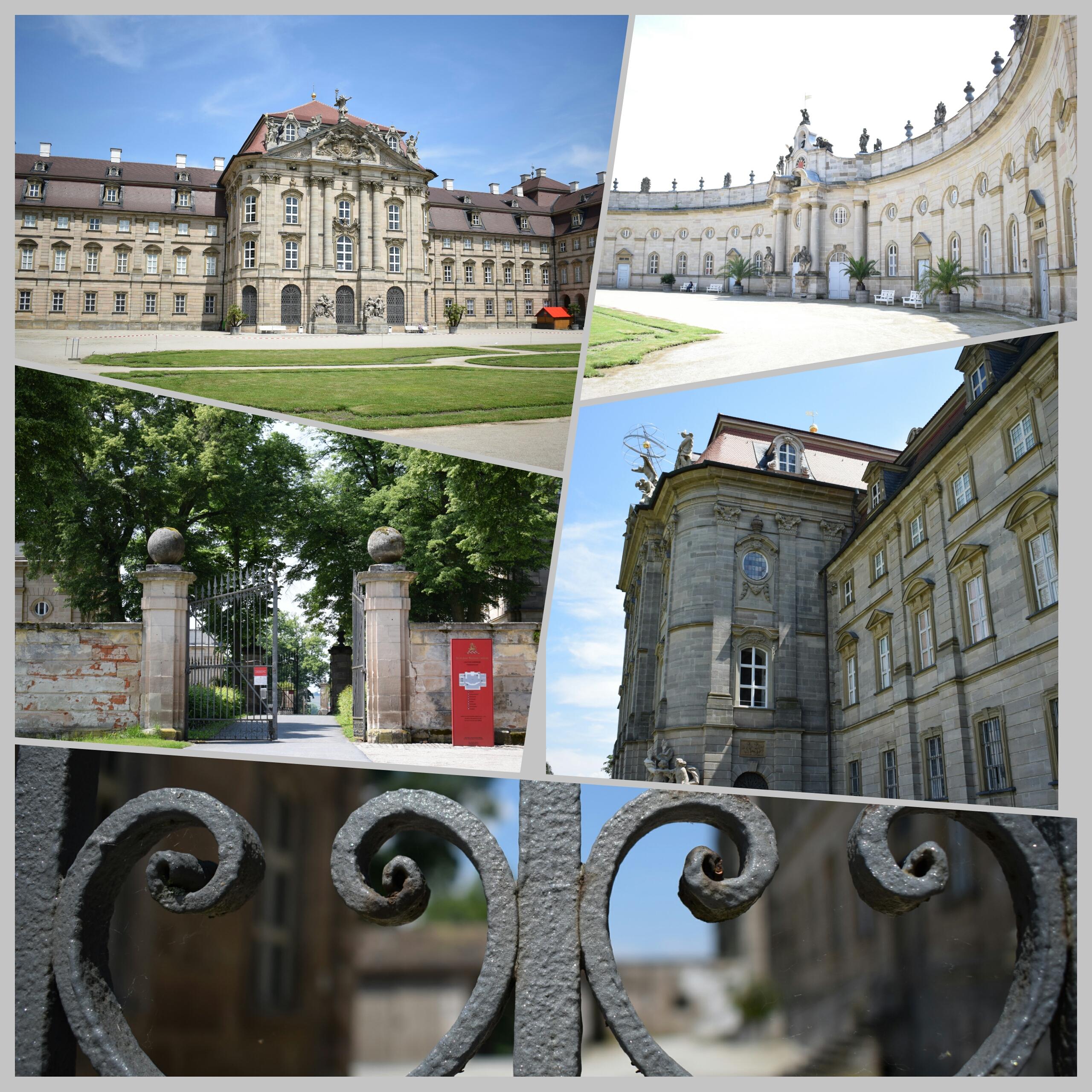 Collage Schloss Weissenstein