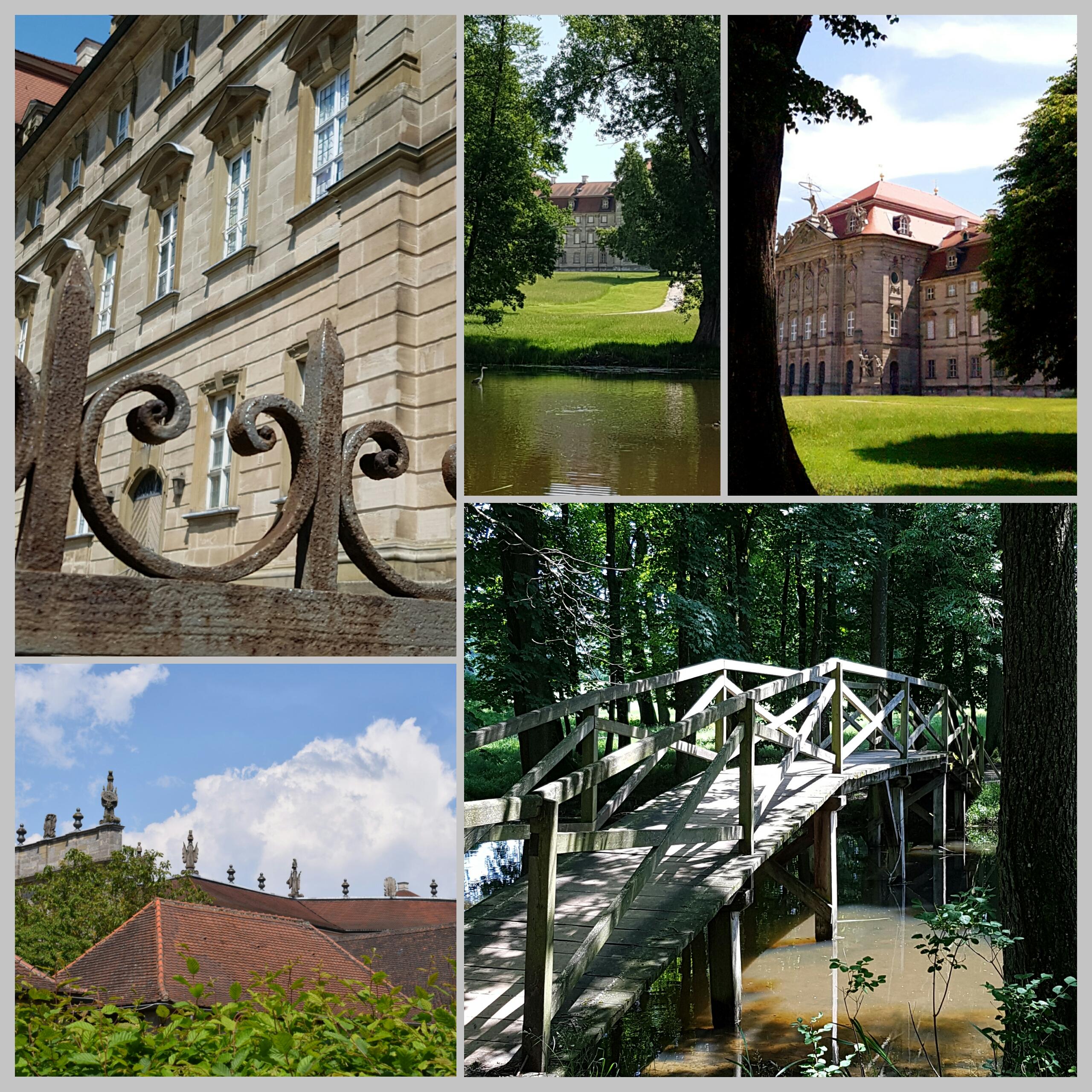 Schloss Weissenstein Collage