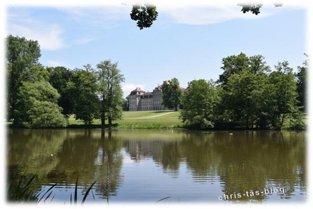 See im Schlosspark Weissenstein