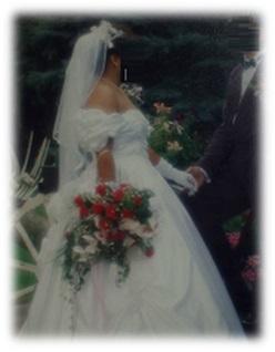Brautkleid meiner Freundin