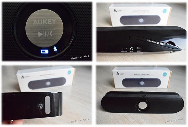 Details aukey Bluetooth Speaker Stand