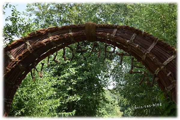 Eingang Wildgarten Furth im Wald