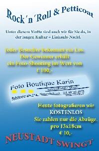 Gewinnspiel Foto Boutique Karin Neustadt Aisch