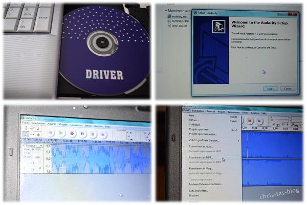 Programm zum digitalisieren von Schallplatten
