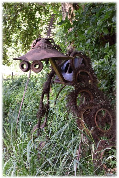 Rost-Insekt im Wildgarten Furth im Wald