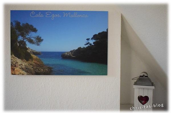 Alu Bild an der Wand Mallorca