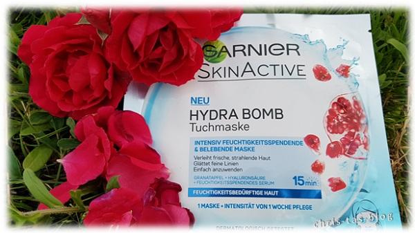Garnier Hydra Bomb Tuchmaske
