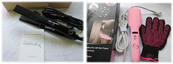 Haarglätter-Test