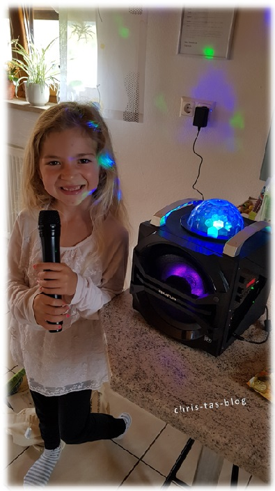 Karaoke mit Virginia