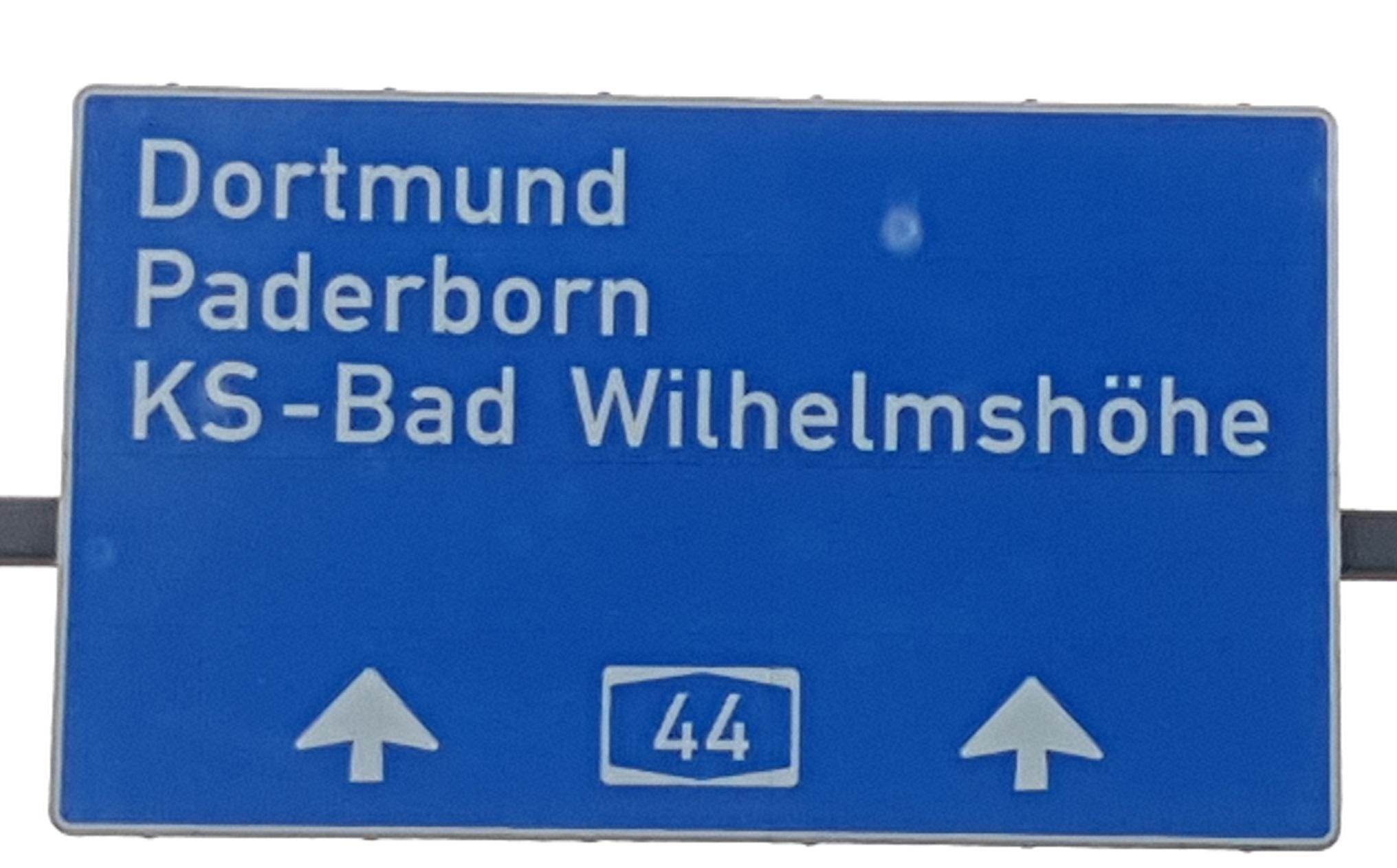 Auf dem Weg nach Paderborn