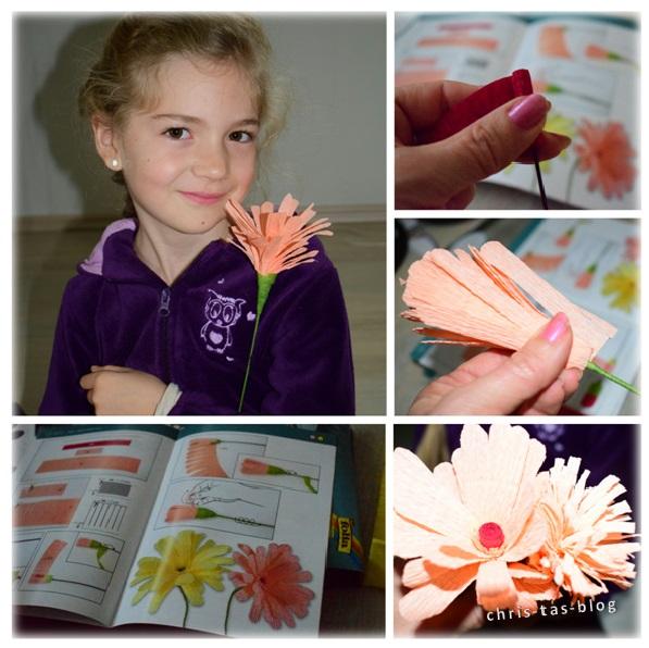 Papierblumen - Bastelset von Folia