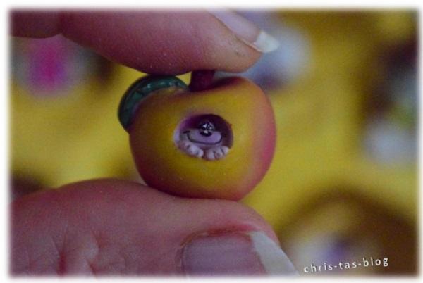 Diddl Sammelfigur 1. Serie Apfelhöhle