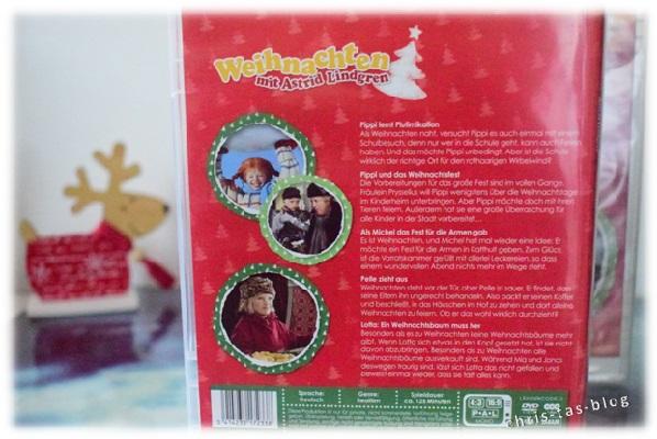 Rückseite DVD Weihnachten mit Astrid Lindgren