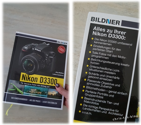 Kamerabuch Nikon D3300 von BILDNER Verlag