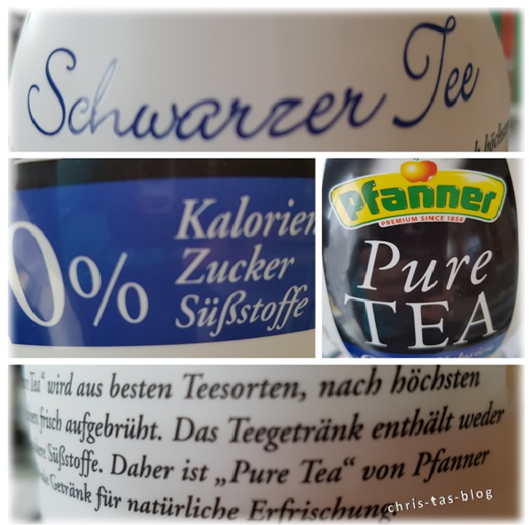 Pfanner Schwarzer Tee Pure Tea