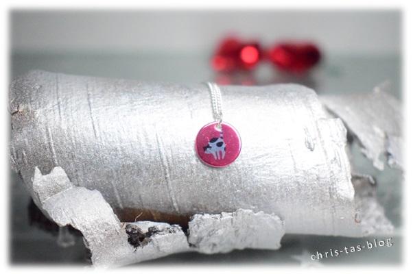 Silberkette mit Katze von Tanja Braun
