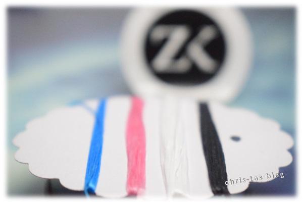 bunte-zahnseide zur Zahnreinigung