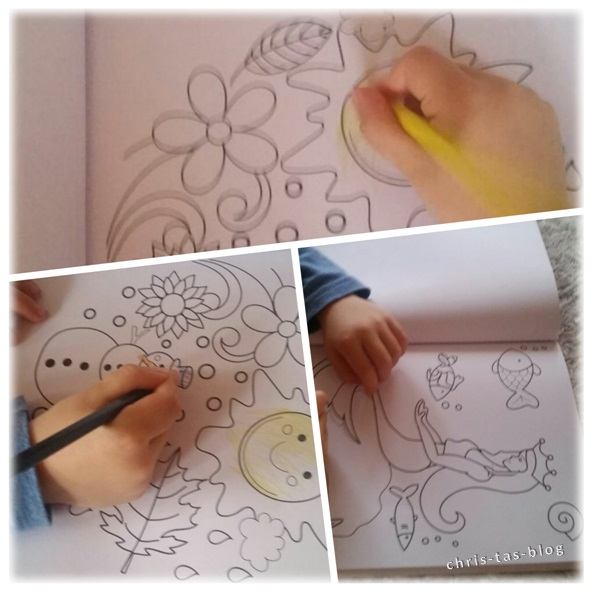 Malspaß mit Kreative Auszeit Mutter und Kind