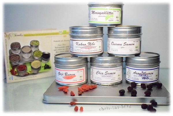 Geschenkbox mit Superfoods