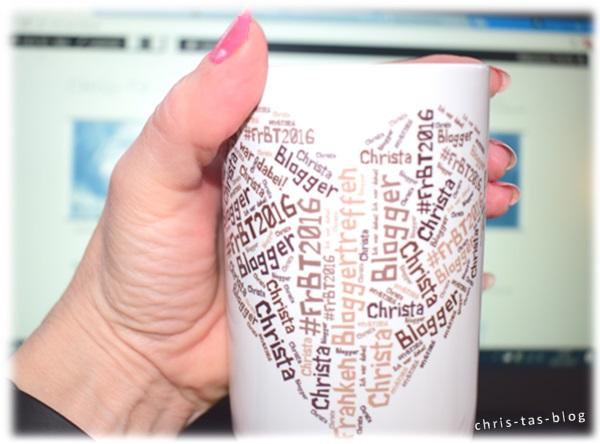 Meine eigene Bloggertasse von Happy Words