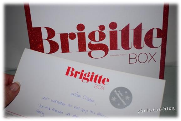 Brigitte Box Dezember in rot-weiß
